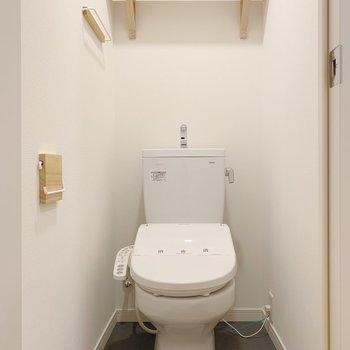 トイレもウォシュレット付きに交換!