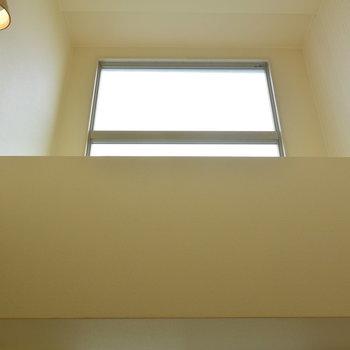 お部屋の中が明るいのは、吹き抜けになっているから!