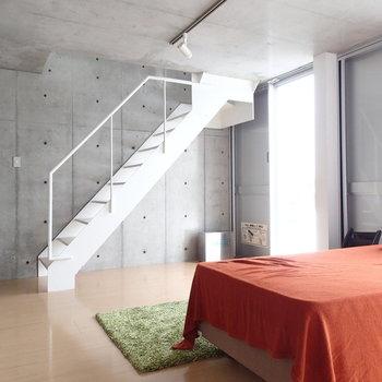 こちらは下のお部屋です。※写真は6階の同間取り別部屋のものです