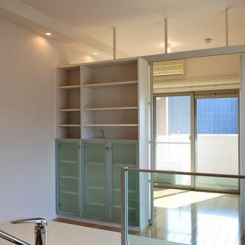 お部屋はコンパクトだから家具は厳選したものを置こう (※写真は11階反転間取り角部屋のものです)