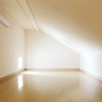 ロフトを収納庫として活用すればお部屋を広く使えます ※写真は前回募集時のものです