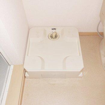 洗濯機置き場はトイレの隣にあります ※写真は前回募集時のものです