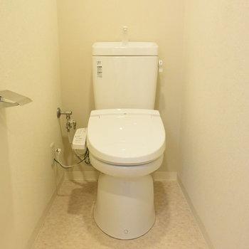 トイレはウオッシュレット付きです