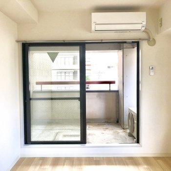 【洋室②】すべての部屋にエアコンがついているのも嬉しい。