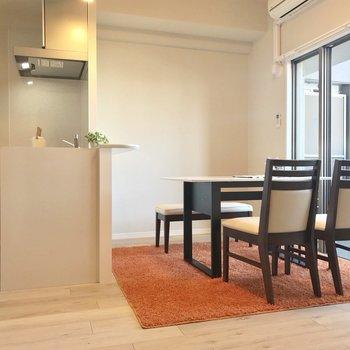 ゆったりひとり暮らしに◎※写真は9階の同間取り別部屋、モデルルームのものです