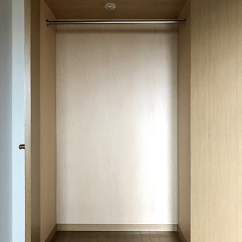 けど収納はたっぷり!※写真は3階の反転間取り別部屋、一部工事中のものです