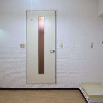 こちらはダイニング?※写真は7階の同間取り別部屋のものです