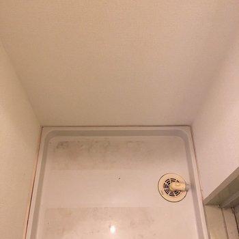 洗濯機置き場はもちろん室内です