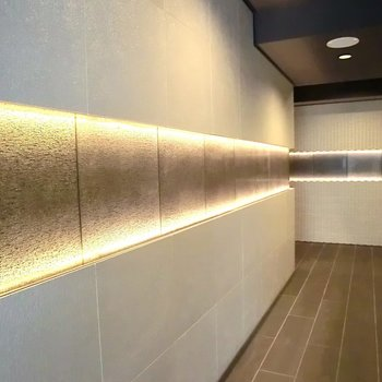 エントランスは宇宙空間!!※写真は2階の同間取り別部屋のものです