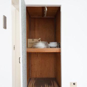 4.5帖の寝室の収納です。※写真は1階の同間取り別部屋のものです