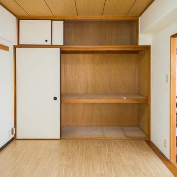 この大容量収納スペース!お部屋を広く使えます。