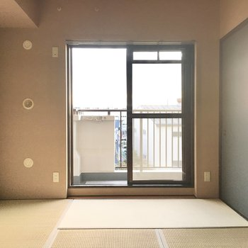 やっぱり畳はゴロゴロしたくなりますねぇ。※写真は3階同間取り・別部屋のものです。