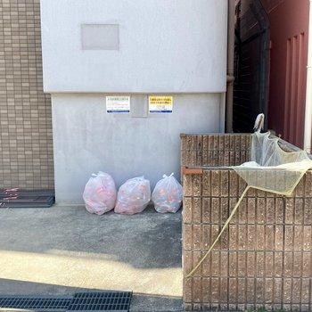 敷地内にゴミ置場があります。
