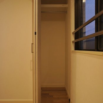 収納も少しコンパクトかな。※写真は同タイプの別室。