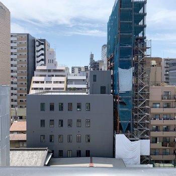 8階なので眺望もそれなり!