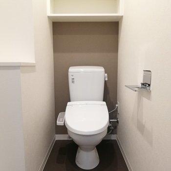 トイレと脱衣所は同じスペースにあります。