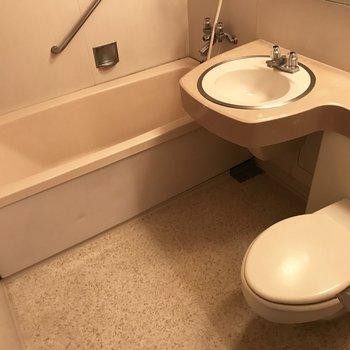 けどスペースが広いのが嬉しい!湯船に足をのばして浸かろう。