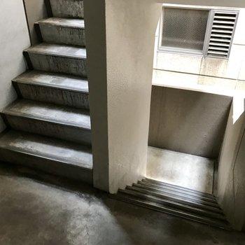 階段を登って4階まで!日々の運動・・・!