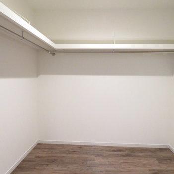 ここは部屋でもいいですか?と思うウォークインクローゼット