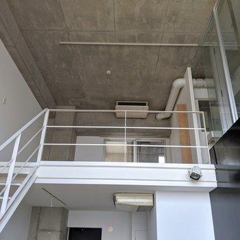 お待ちかねの上階を見てみましょう。(※写真は前回募集時の清掃前のものです)