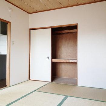 【和室】畳・襖・押入れ。日本の和の象徴ですね?