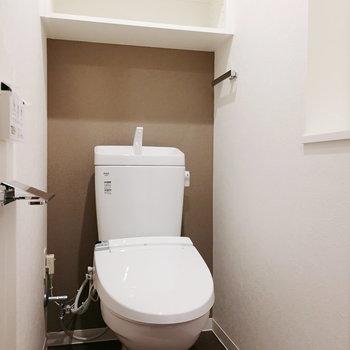 トイレもしっかり独立しています。