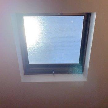 【洋室3】大きな窓。風も通せてよいですね◎