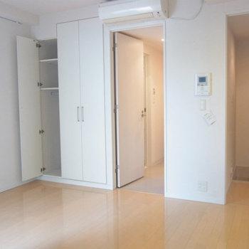 ベランダ側から※写真は4階の同間取り別部屋のものです