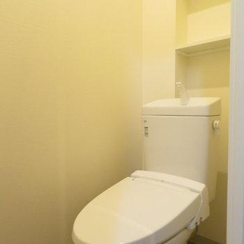 トイレももちろん綺麗
