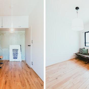 各洋室も素材感があり、それぞれ違った顔に。※家具はサンプルです