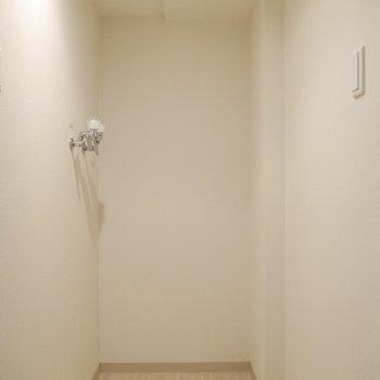 室内洗濯機置き場も完備!脱衣所もありますよ