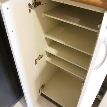 靴箱も発見!