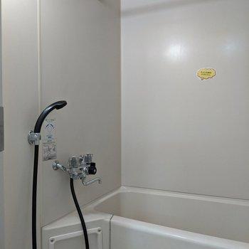 浴室内で洗濯物を干すことができます。