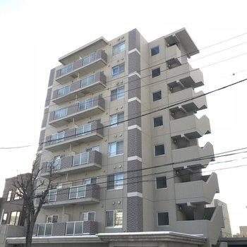 鉄筋コンクリート造8階建て