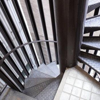 非常階段につながっていました