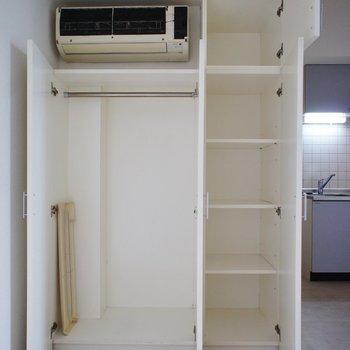 収納はここと※写真は3階の反転間取り別部屋のものです