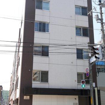 5階立てのマンション!