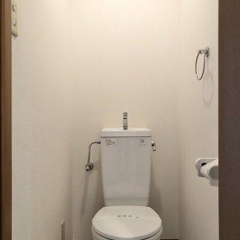 まずはトイレがあります