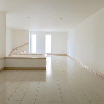 ロフトが広い!※写真は1階の同間取り別部屋のものです
