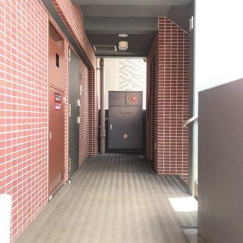 12階はわたしたちのお部屋だけ。※写真は11階のものです
