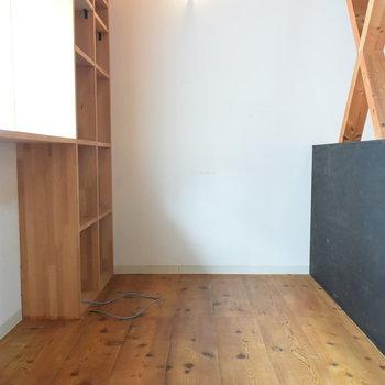 作業スペースに良さそうな空間が