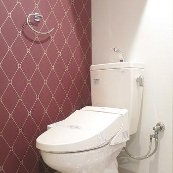 アメセパタイプのお手洗い!◯ (※写真は3階同間取り別部屋のものです)
