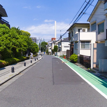 渋谷とは思えないほど周辺は静かです。