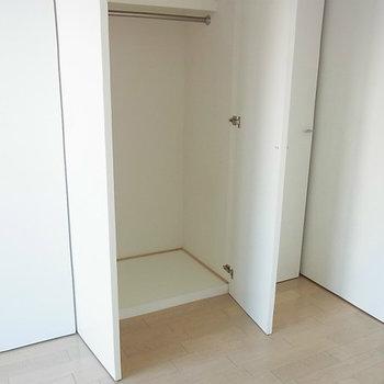 収納もたっぷり※写真は11階の反転間取り別部屋のものです