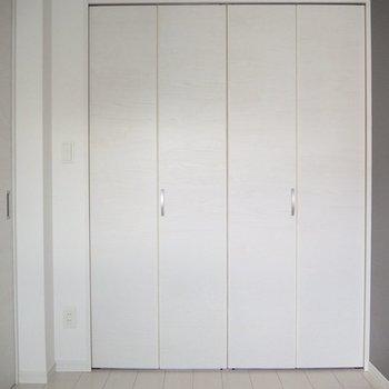 【洋室】どのくらい入るかな※写真は5階の同間取り別部屋のものです