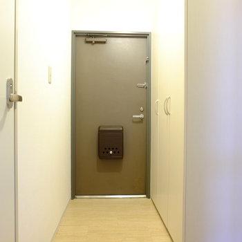 大きな下駄箱 (※写真は2階同間取り別部屋のものです)