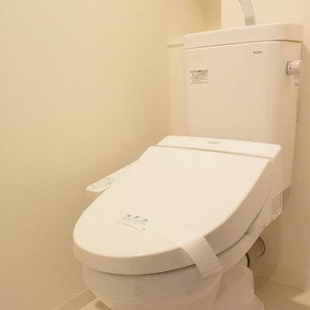 トイレはもちろんウォシュレットです