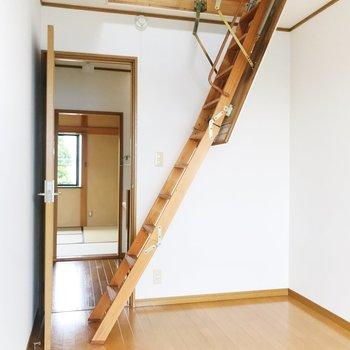 【東側洋室5帖】はしごが登場しました……!