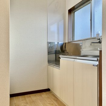 窓もあって、お料理の匂いもこもらなそう。※写真は前回募集時のものです