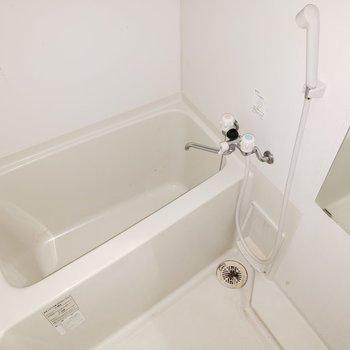 水回りは普通でシンプルが良いね!(※写真は清掃前・通電前のものです。)
